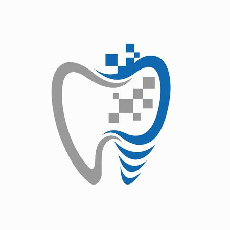 Dental logos with implant concepts