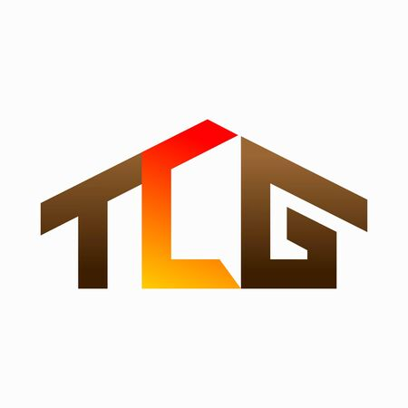 Home logo that formed letter T and letter G