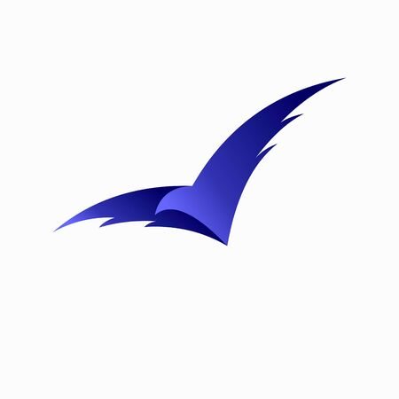 bird logo with a simple concept