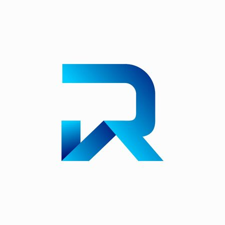 House logo that formed letter R