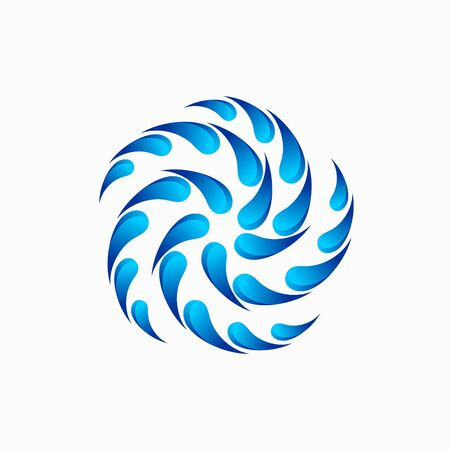 Whirlpool logo that formed a star
