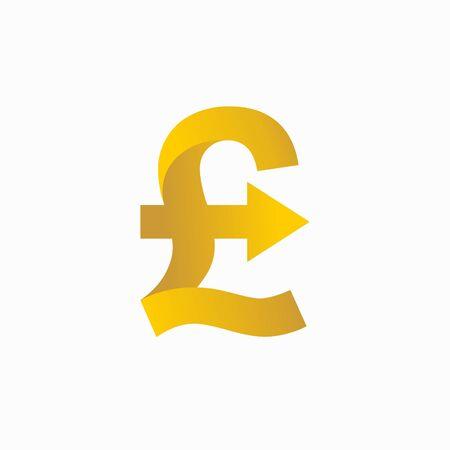 Pound sterling increase logo