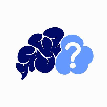 Brain question logo