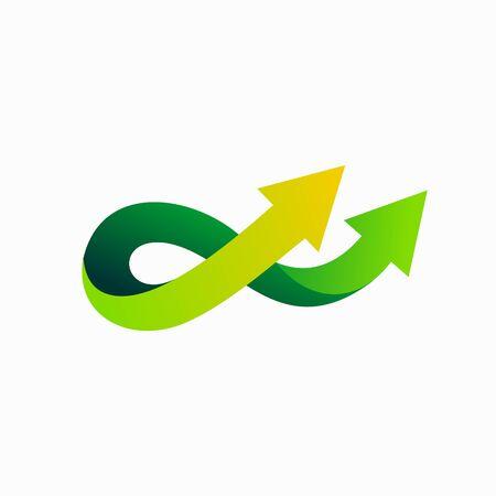 daouble arrow  , infinity vector