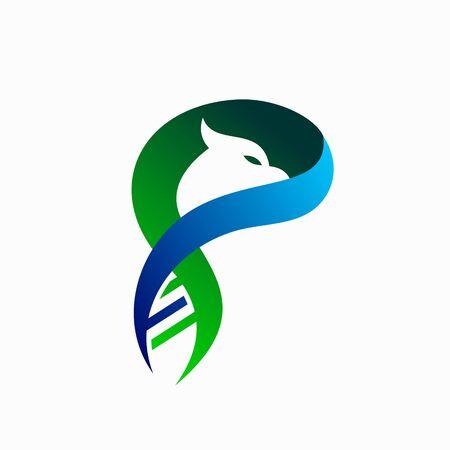 DNA abstract  design, bird