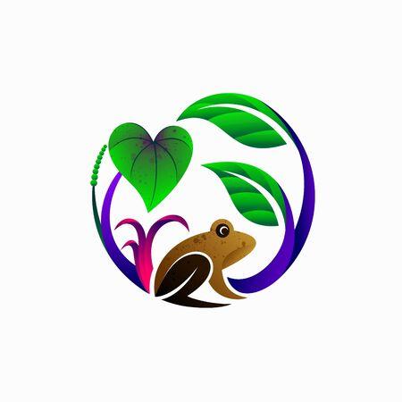 aquascape logo design, aquascape vector logo Vettoriali