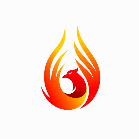 luxury phoenix logo, best phoenix bird logo