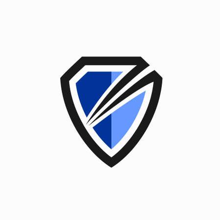 shield icon template, shield modern concept