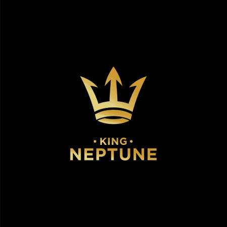 crown vector that formed the neptune logo