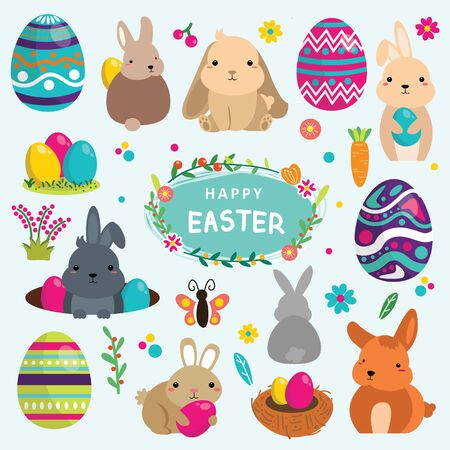 happy easter day in spring