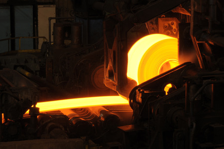 Hot Steel Roll photo