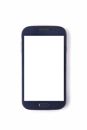 electronic organizer: Smartphone - Phablet Stock Photo