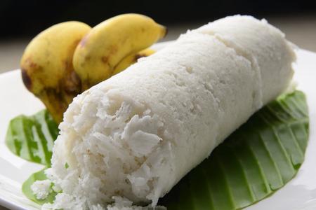 Puttu- White Rice Rolls photo