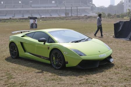gallardo: Green Lamborghini Gallardo