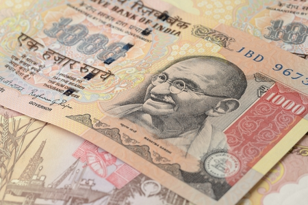rupees: One Thousand Indian Rupees