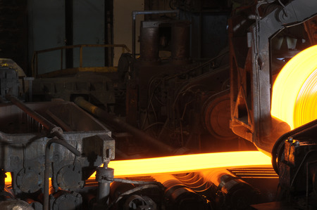 Close up of Hot Steel photo