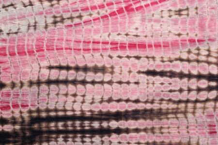 black dye: Background of  Red, Black,and Pink Tie and Dye Cloth Series. Stock Photo