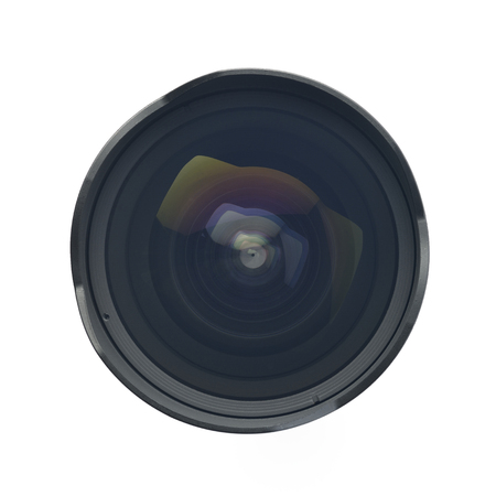 wide angle lens: Top view of Ultra Wide Angle Lens Stock Photo