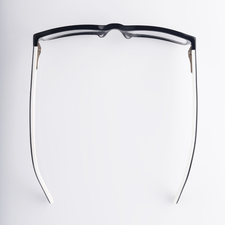 Top View of Eyeglasses