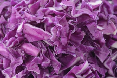 red cabbage: Chopped Red Cabbage