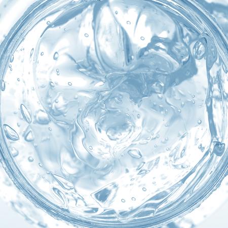 Gel Bubbles in Türkis Farbe