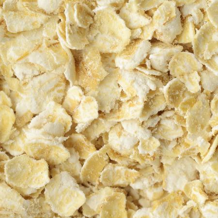 wild oats: Oatflakes Stock Photo