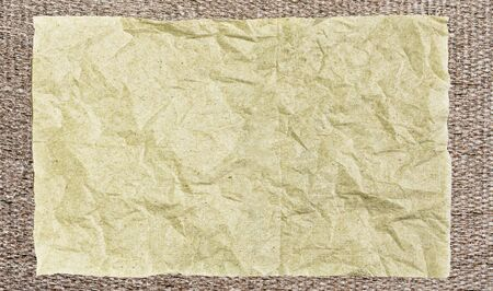 bamboo mat: old paper on bamboo mat texture with natural patterns