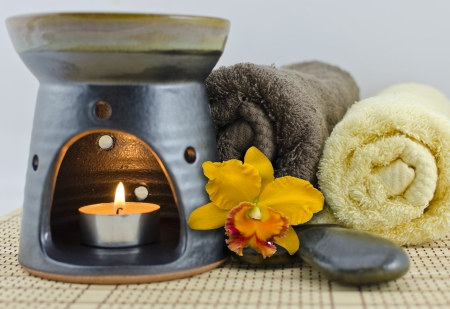 aromatherapy spa relaxation photo