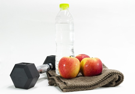 excercise and drinking water   Concept for purify and healthy lifestyle