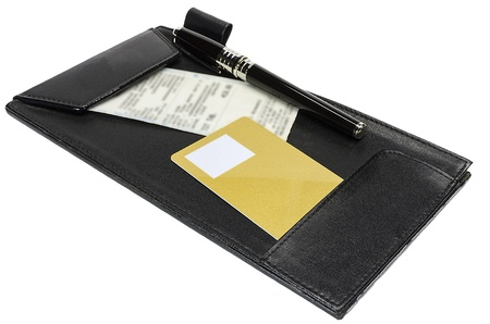 credit card wait for signing on a sale transaction