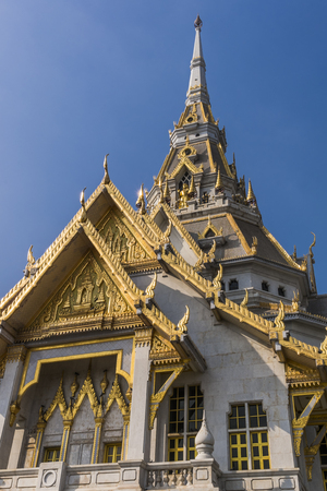 Temple of wat Sothornwararam ,Thailand photo