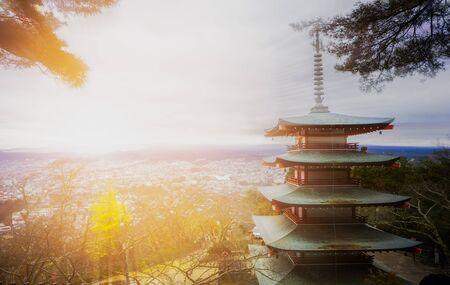 chureito: Chureito Pagoda in the morning
