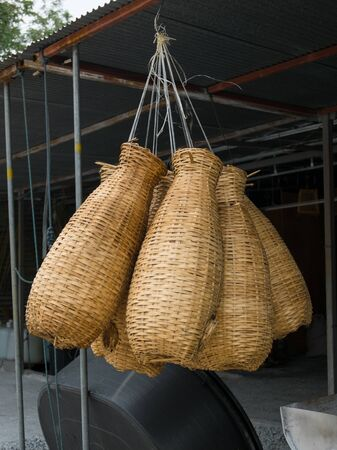 shop for: Shop For The fish trap. Stock Photo