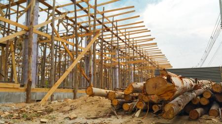 componentes: los elementos de construcci�n de madera