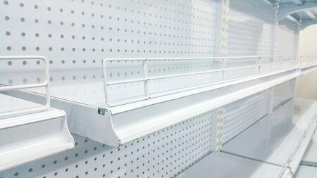 advertising wobbler: Soft focus , white shelves
