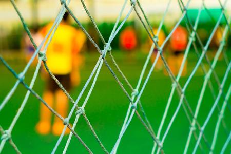 rope barrier: Rope barrier soccer field