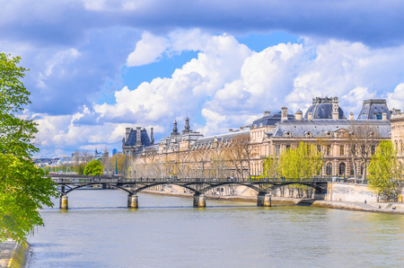 Paris cityscape and The streets . View from famous France . Travel concept photo During a trip to through Europe.  Paris Best Destinations in Europe