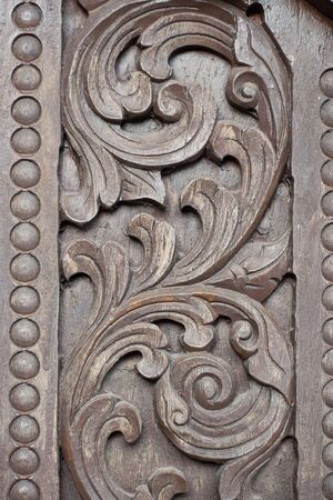 carve: Thai style wood carve