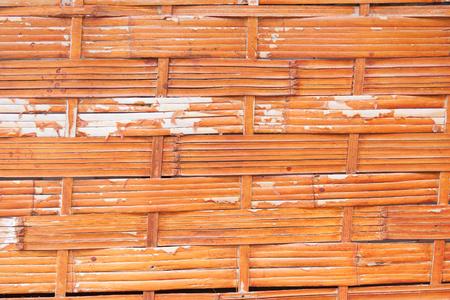 wicker work: Bamboo Wicker work Stock Photo