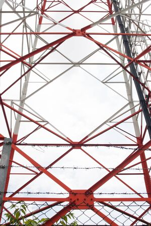 gprs: Telecom and mobile phone tower