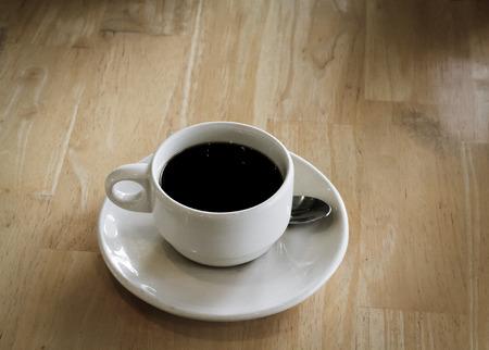 cofee: Cofee cup on wood table