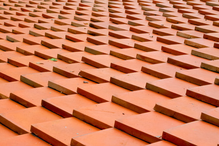 roof tiles made of terracotta