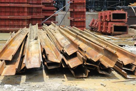 scrap at site construction