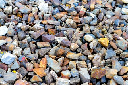 on aggregate: gravel aggregate abstract background