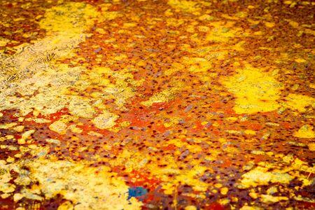 steel: rusty steel plate background