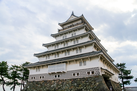 Shimabara Castle, also known as Moritake Castle and Takaki Castle, is a Japanese castle located in Shimabara, Hizen Province. This five-story white building stands in stark contrast to the black Kumamoto Castle in neighboring Kumamoto Prefecture.JAPAN