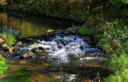Streams and small waterfalls along the way.JAPAN