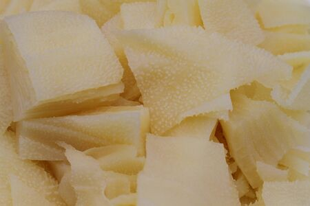 parsley digestion: ox tripe closeup Stock Photo