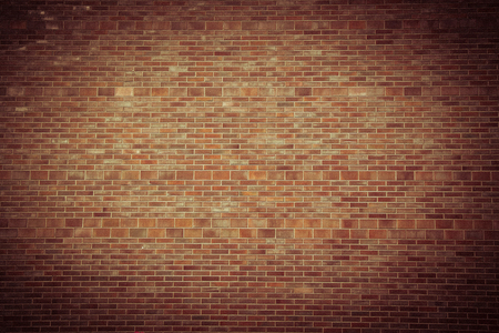 floor covering: wall brick background Stock Photo