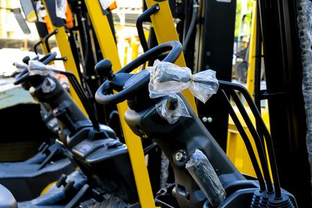 wheel drive system of forklift 版權商用圖片